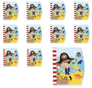 Little Pirate Notepads 48ct