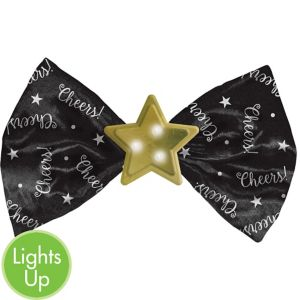 Light-Up Star Bow Tie