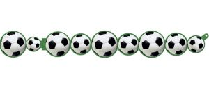Soccer Ball Paper Garland
