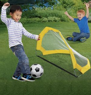 Pop-Up Soccer Goal