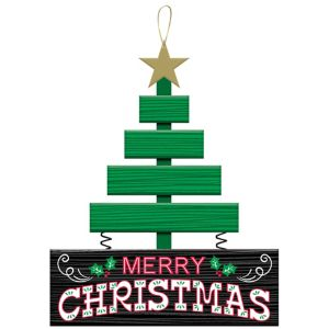 Christmas Tree Merry Christmas Sign