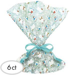 Frosty Friends Treat Tray Bags 6ct