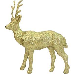 Glitter Gold Reindeer