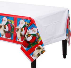 Classic Santa Table Covers 3ct