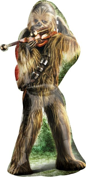 Chewbacca Balloon - Giant Star Wars