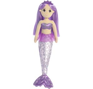 Amethyst Mermaid Plush
