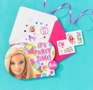 Barbie Invitation Kit
