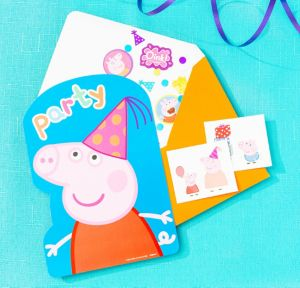 Peppa Pig Invitation Kit