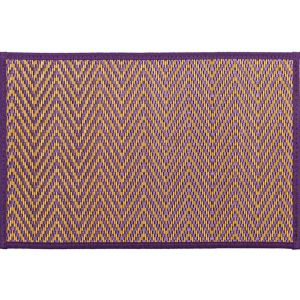 Purple Chevron Bamboo Placemat