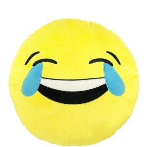 Laughing Crying Smiley Pillow Plush