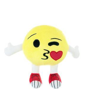 Kissy Face Smiley Plush