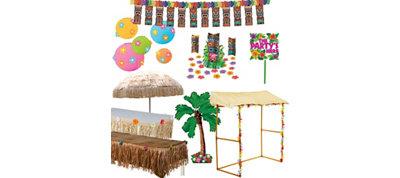 Full Tiki Party Decoration Kit