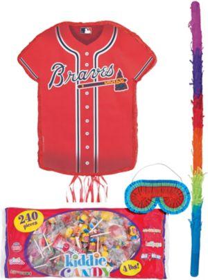 Atlanta Braves Pinata Candy Kit
