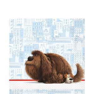 The Secret Life of Pets Lunch Napkins 16ct