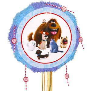 Pull String The Secret Life of Pets Pinata