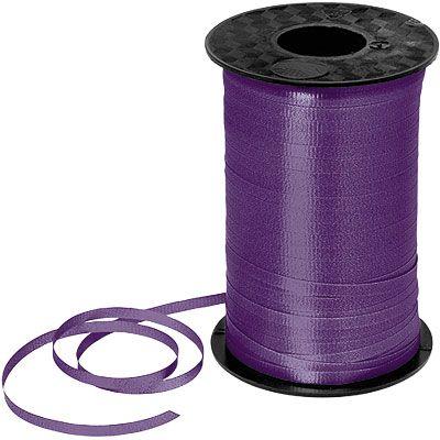Purple Curling Ribbon