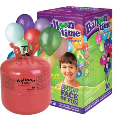 Helium Tank Kit 8.9 cu ft 30 Latex Balloons