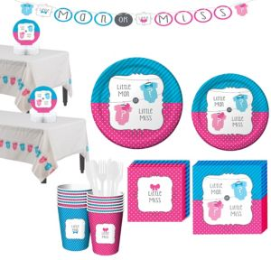 Gender Reveal Party Kit 32 guests