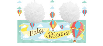 Up & Away Decorations Shower Kit