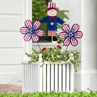 Uncle Sam Patriotic Planter Decorating Kit