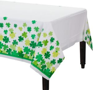 Blooming Shamrock Table Cover