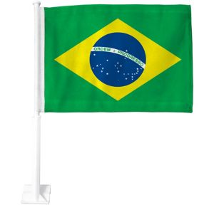 Brazilian Flag Car Flag