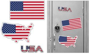 American Magnets 3pc