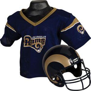 Child Los Angeles Rams Helmet & Jersey Set