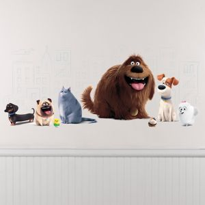 Giant The Secret Life of Pets Wall Decal