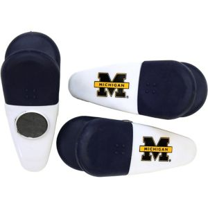 Michigan Wolverines Magnetic Bag Clips 3ct
