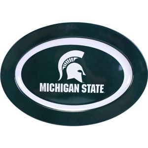 Michigan State Spartans Oval Platter