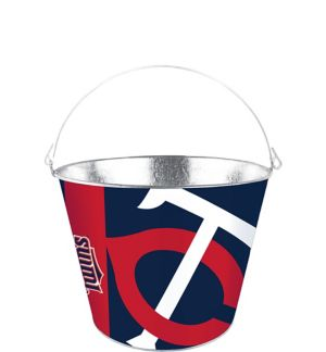 Minnesota Twins Galvanized Bucket