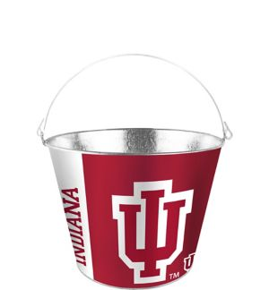 Indiana Hoosiers Galvanized Bucket