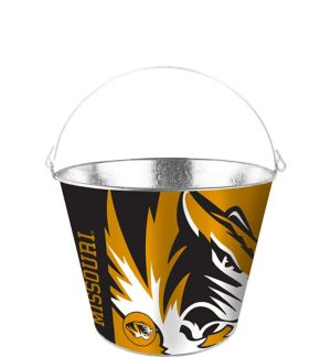 Missouri Tigers Galvanized Bucket