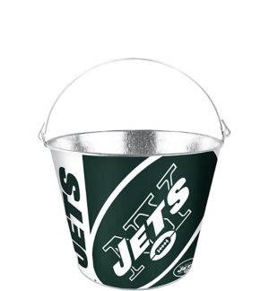 New York Jets Galvanized Bucket