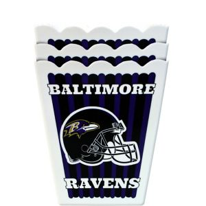Baltimore Ravens Popcorn Boxes 3ct