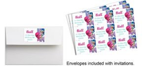 Custom Shimmer and Shine Stickers