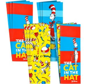 Cat in the Hat Bookmarks 12ct - Dr. Seuss