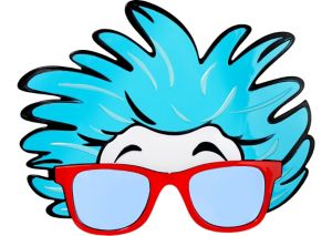 Thing 1 & Thing 2 Glasses - Dr. Seuss