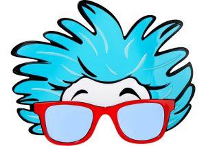 Thing 1 & Thing 2 Glasses - Dr. Seuss