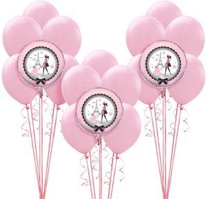 Pink Paris Balloon Kit