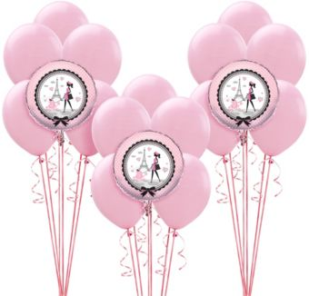 Pink Paris Balloon Kit