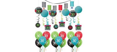 Celebrate 30th Birthday Balloon Kit
