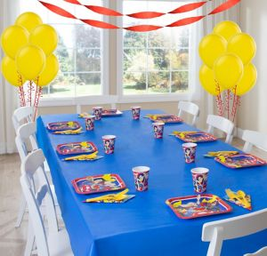 DC Superhero Girls Basic Party kit for 8 Guests