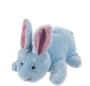 Blue Easter Bunny Plush