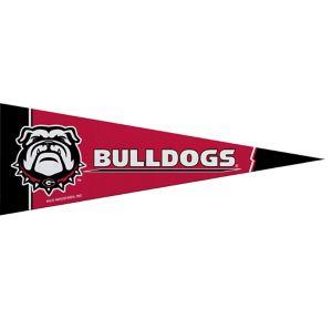 Small Georgia Bulldogs Pennant Flag