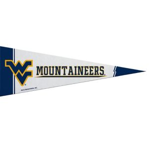 Small West Virginia Mountaineers Pennant Flag