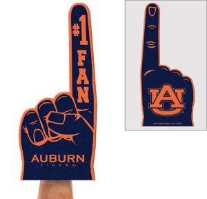 Auburn Tigers Foam Finger