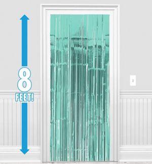 Robin's Egg Blue Doorway Curtain