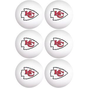Kansas City Chiefs Pong Balls 6ct